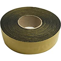 "Frost King IT30/8 2 x 1/8""/30' Rubber Insulation Tape, Black"