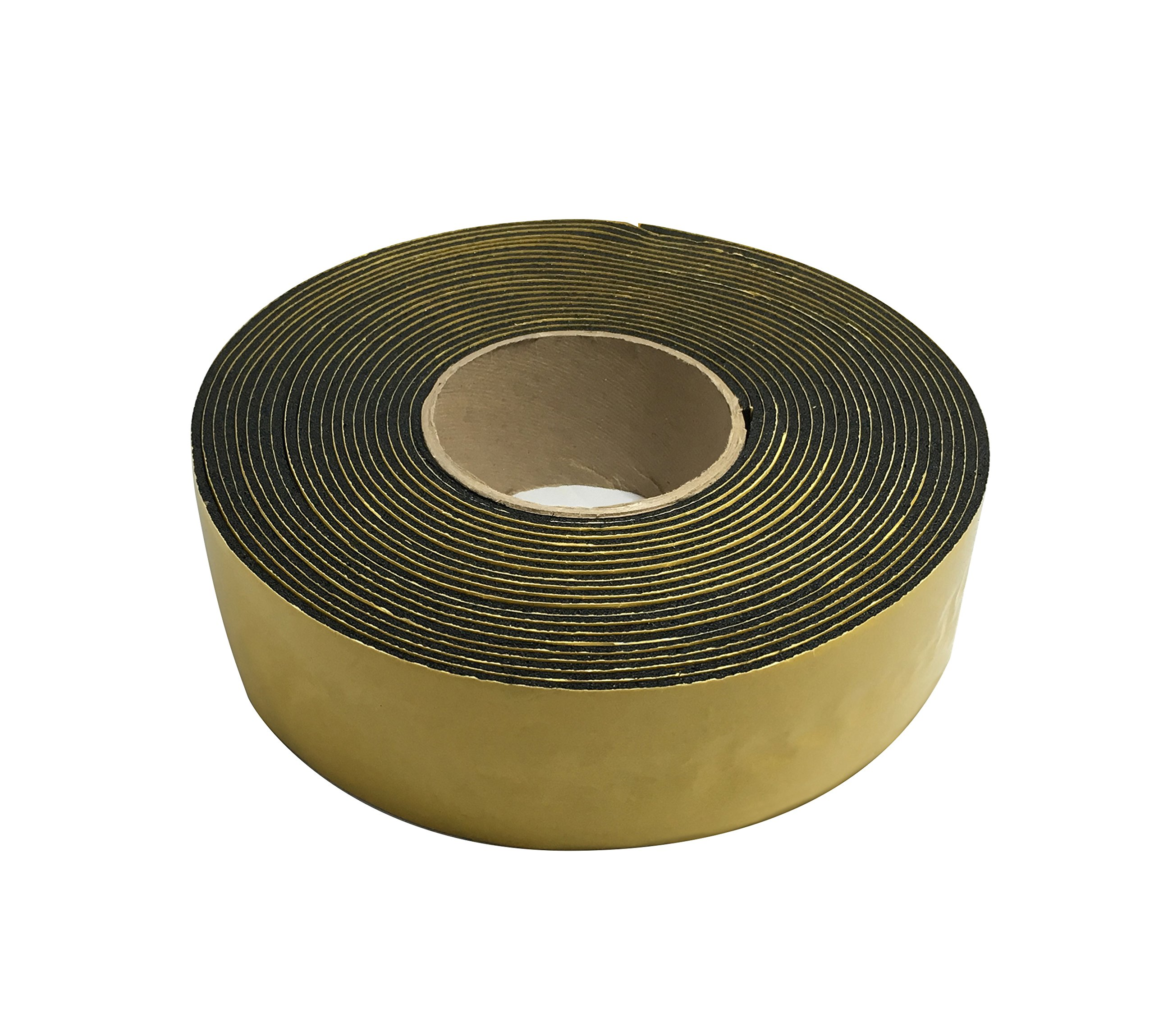 Frost King IT30/8 2 x 1/8''/30' Rubber Insulation Tape, Black