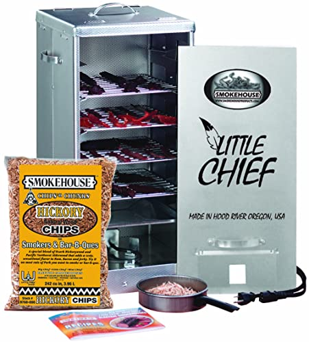 Smokehouse Products Little Chief Front Load Electric Smoker Review