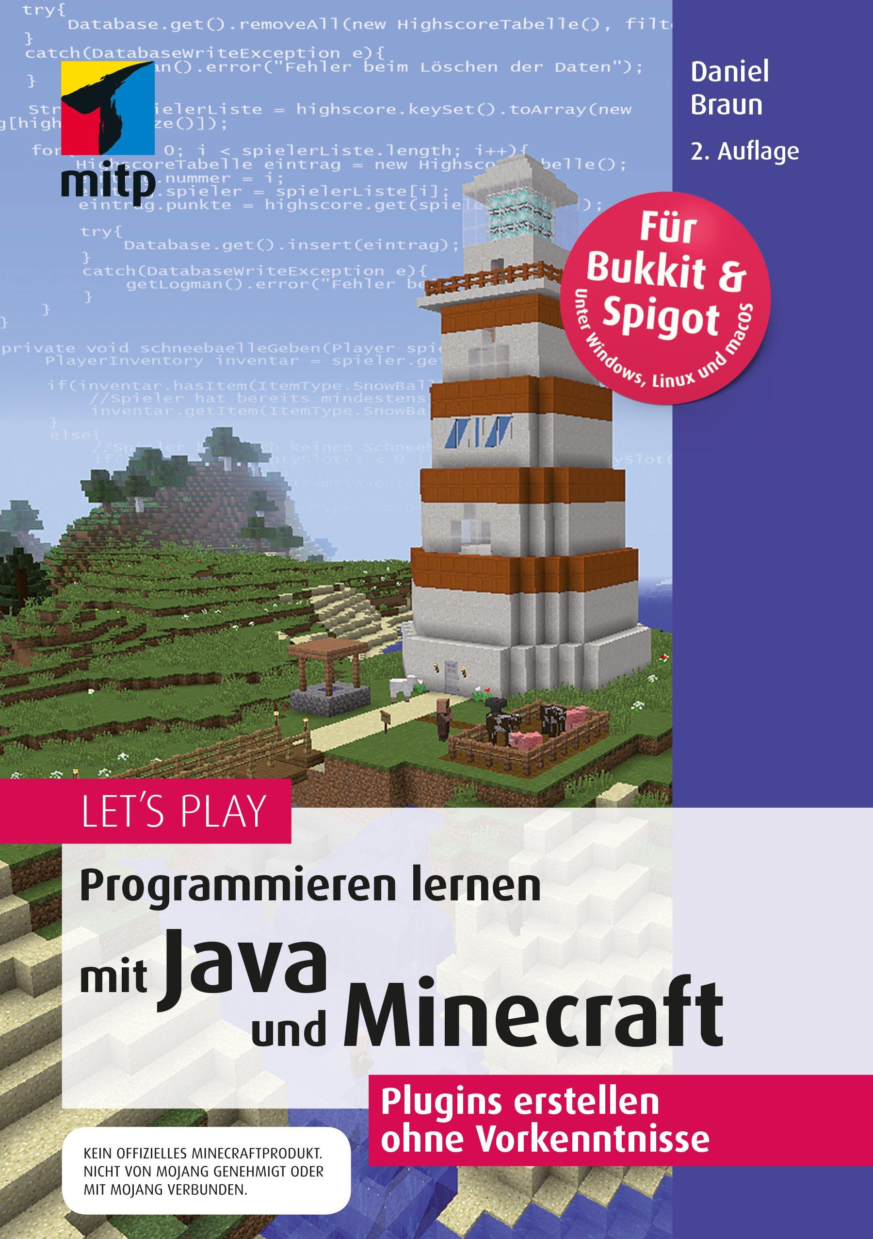 Lets Play Programmieren Lernen Mit Java Und Minecraft Plugins - Minecraft haus bauen fur profis