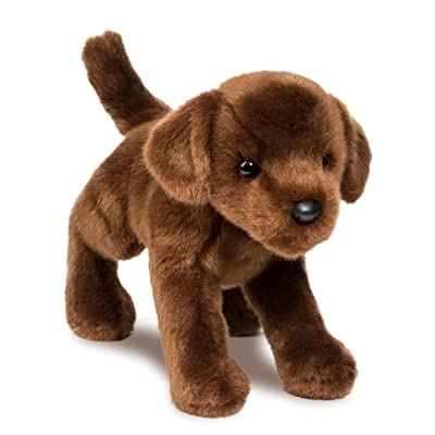 Douglas C.C. Bean Chocolate Lab Plush Stuffed Animal: Toys & Games