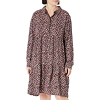 JDY Jdypiper L/S AOP Shirt Dress Wvn Noos Vestido para Mujer