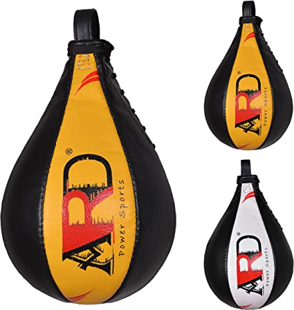 SMALL Boxing Punching Training MEISTER SPEEDKILLS GENUINE LEATHER SPEED BAG