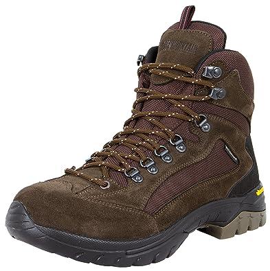 2926ef5d3a88 GUGGEN Mountain Herren Damen Wanderschuhe Bergschuhe Wasserdicht  Outdoor-Schuhe Walkingschuhe HPM51, Farbe Braun,