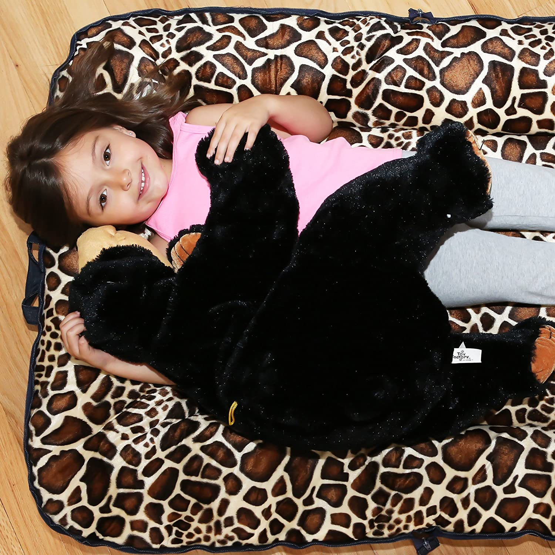 Amazon.com: Woombie bebé Eco Donut portátil Play Mat, Jirafa ...