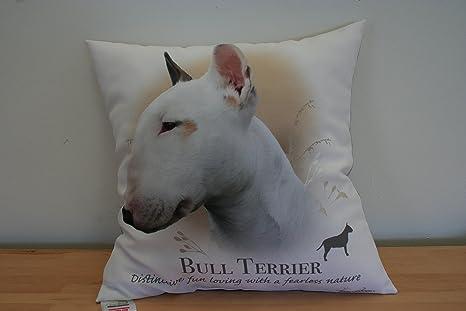 Picture Pillow English Bull Terrier Funda de cojín para ...