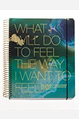 The Desire Map Planner from Danielle LaPorte 2018 Daily (Teals & Gold) Hardcover