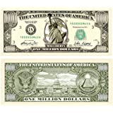 Set of 10 Bills-Traditional Million Dollar Bill by Novelties Wholesale