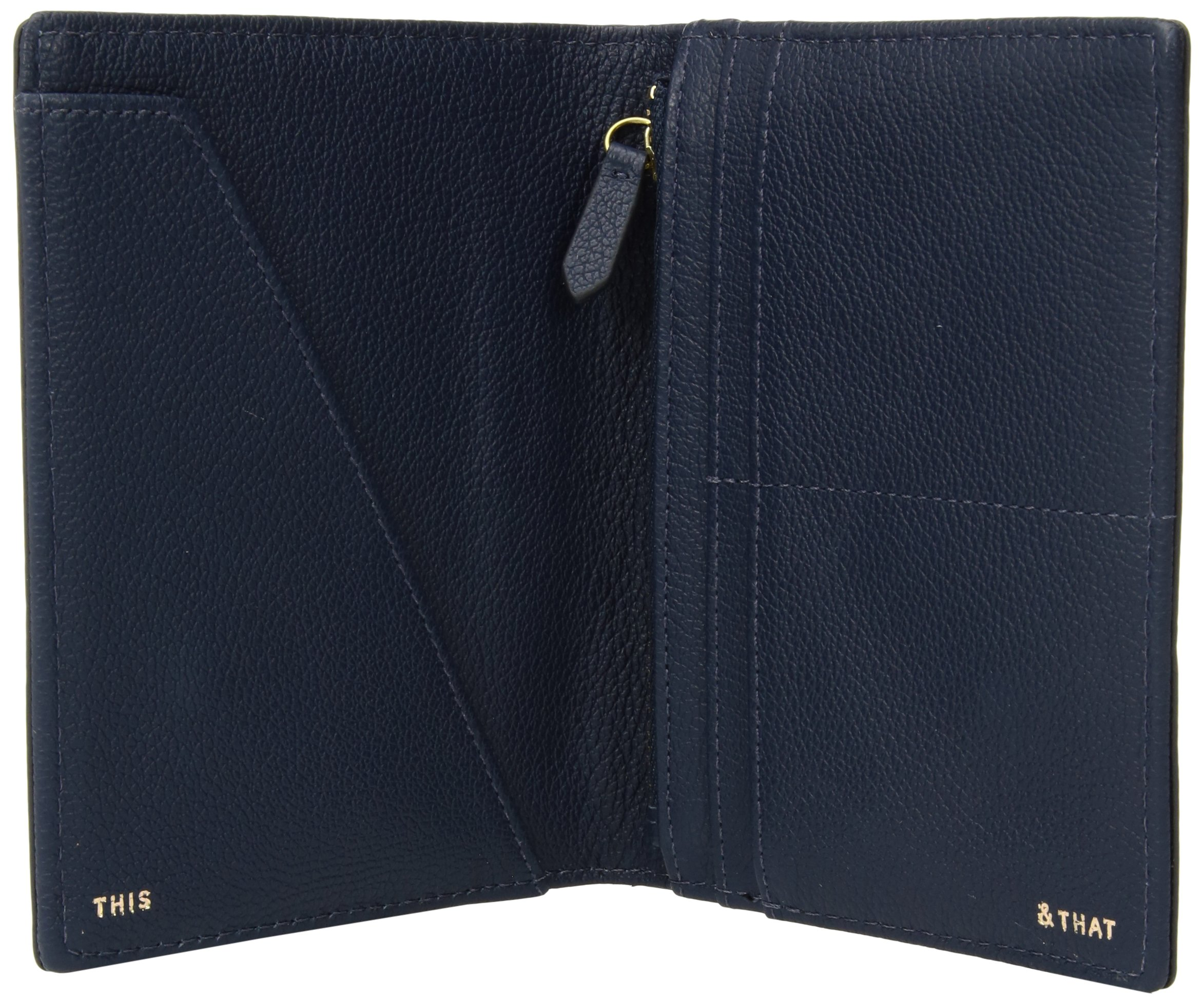 Fossil RFID Passport CASE Wallet, Midnight Navy Fringe by Fossil (Image #3)
