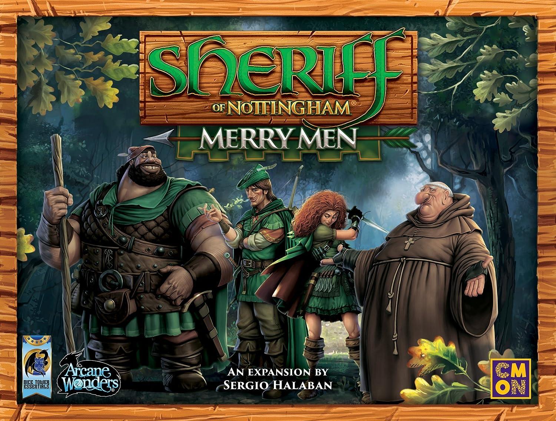 Arcane Wonders Sheriff of Nottingham Merry Men Board Games PSIQ7 DTE01SNX1AWG