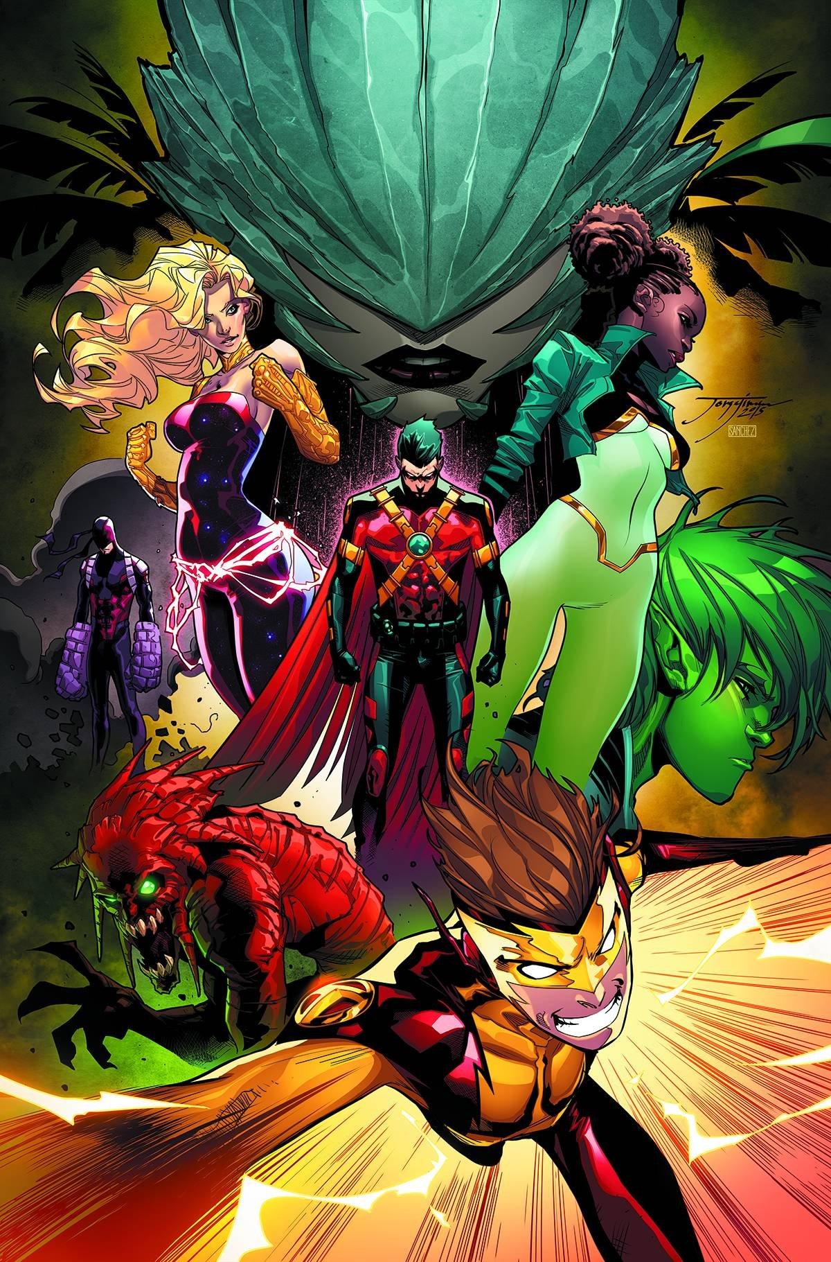 Download Teen Titans #16 (Jorge Jimenez Regular Cover) ebook