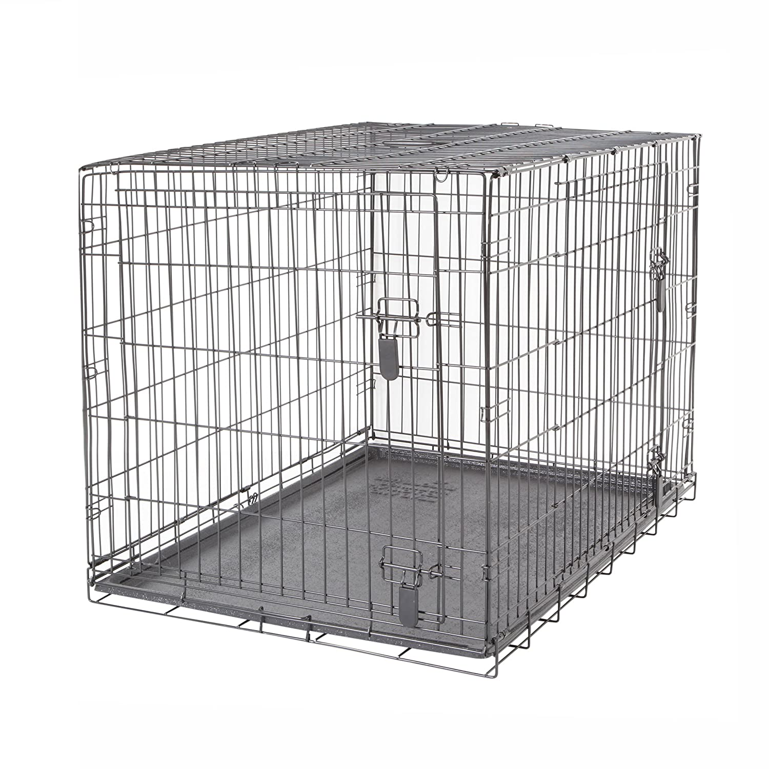 Dogit Two Door Wire Home Crates with Divider X 106 5 X 70 X