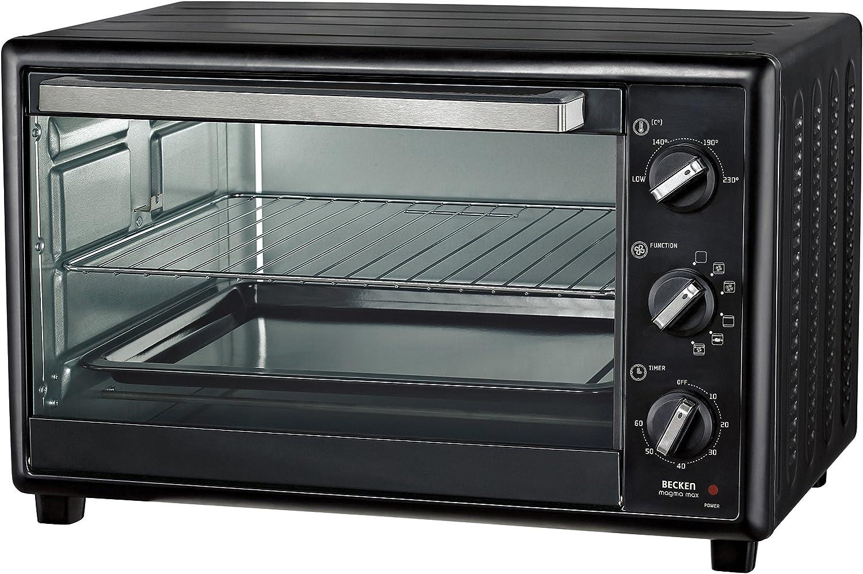 Becken JK-3001CR - Mini horno 30l: Amazon.es: Hogar