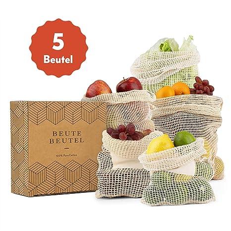 Beute Beutel Bolsa para Fruta y verdura Reutilizable de ...
