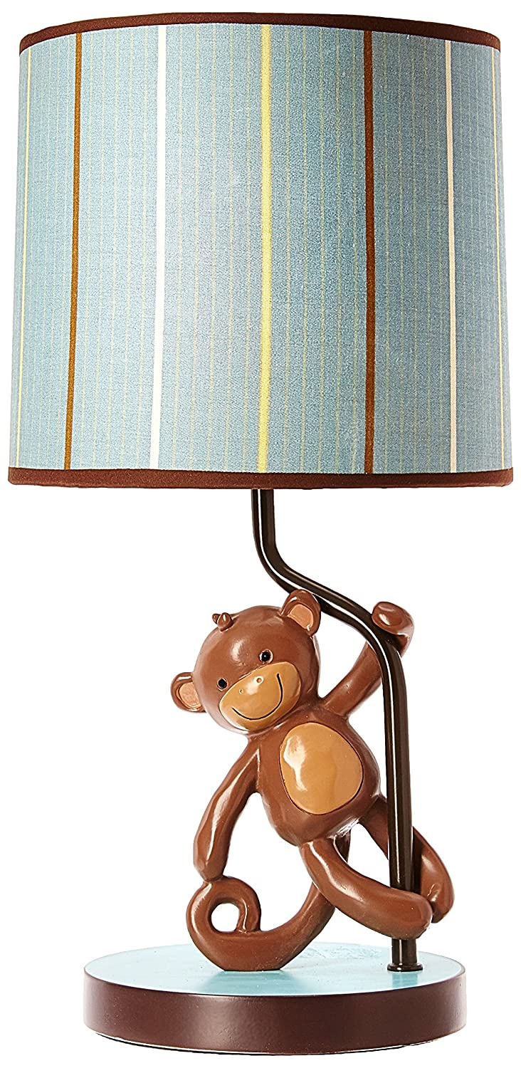 Lambs /& Ivy Lamp with Shade and Bulb Giggles