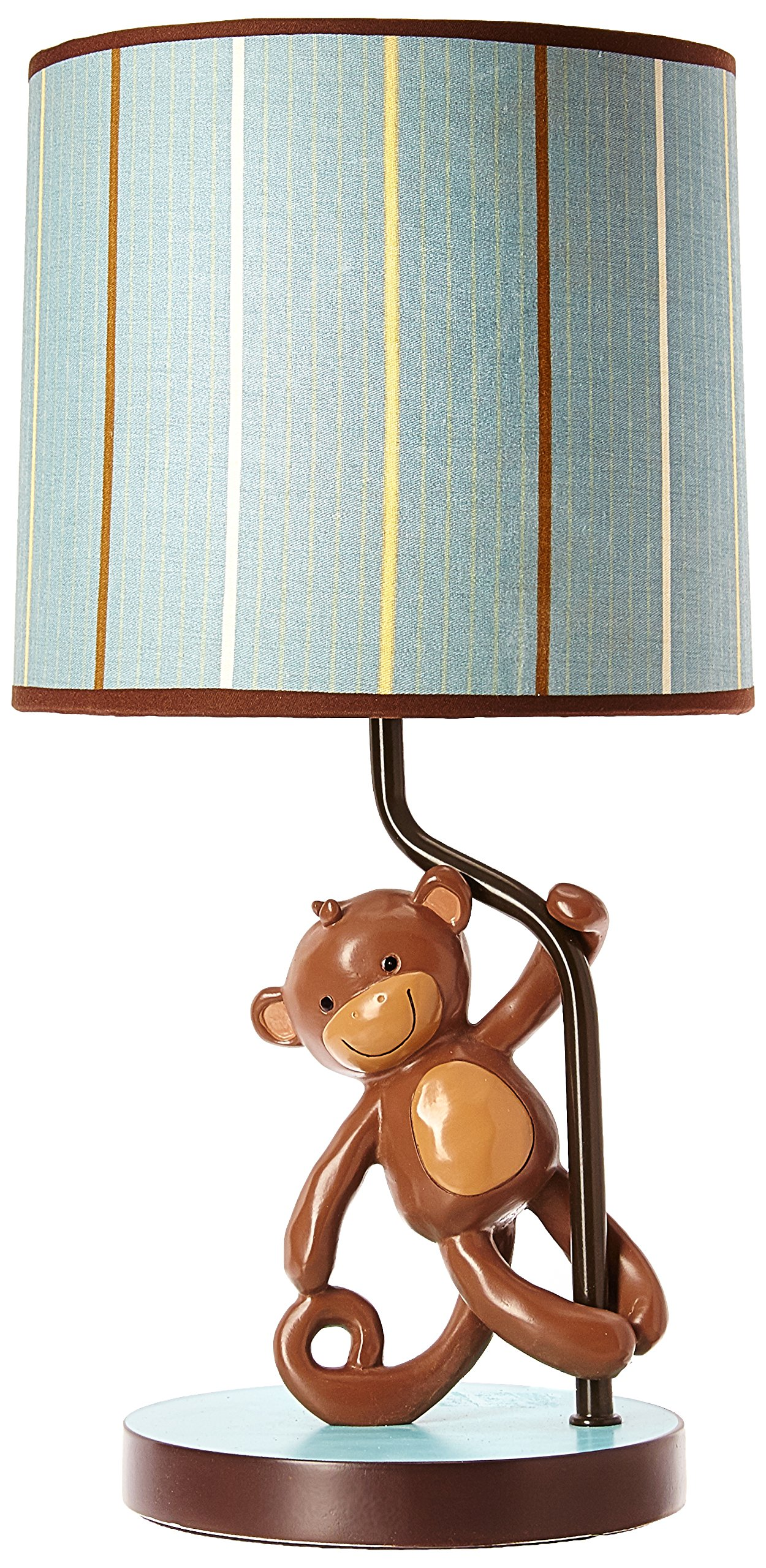 Lambs & Ivy Lamp with Shade and Bulb, Giggles