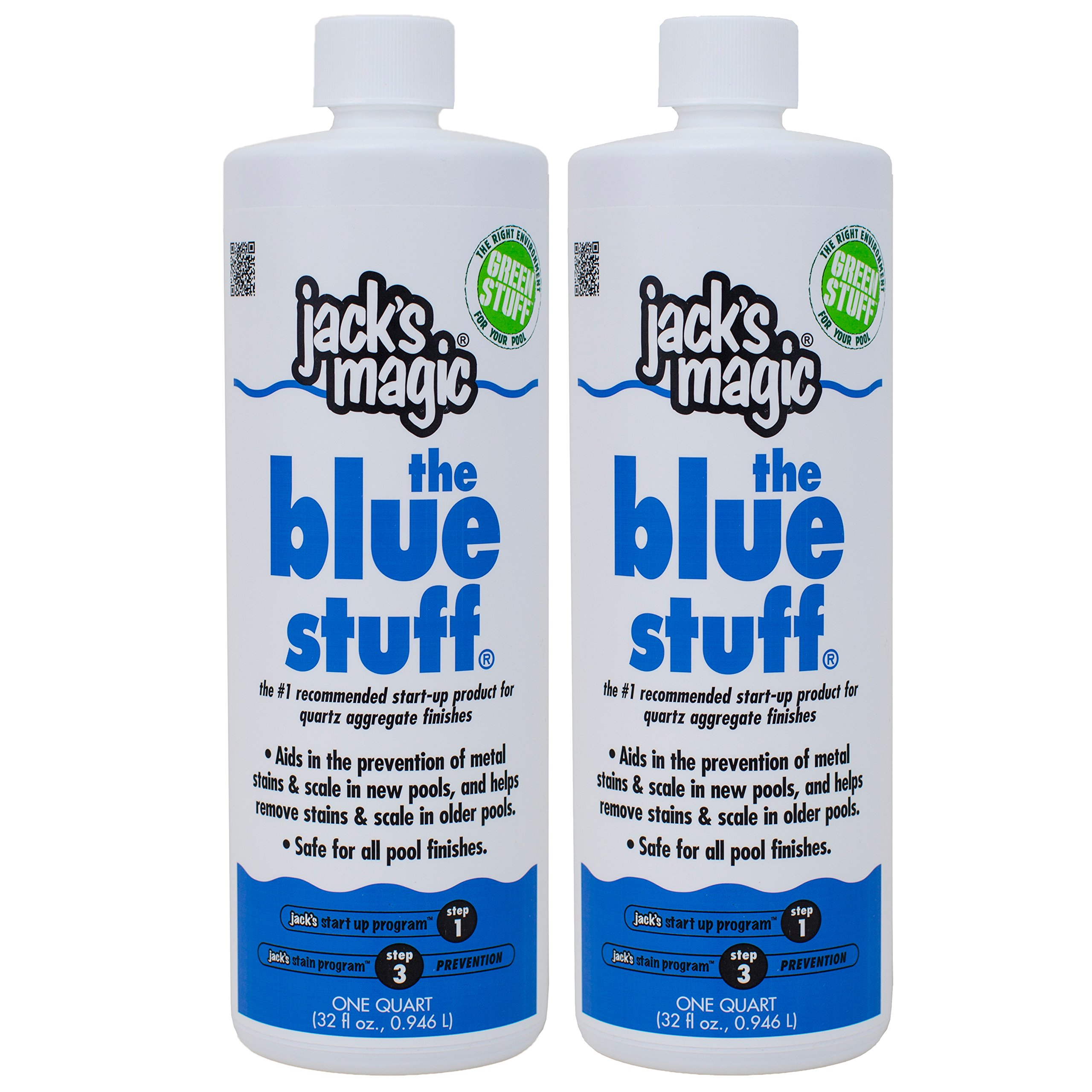 Jack's Magic The Blue Stuff (1 qt) (2 Pack) by Jack's Magic