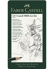 Faber-Castell 119065 - Set de 12 lápices para dibujo artístico