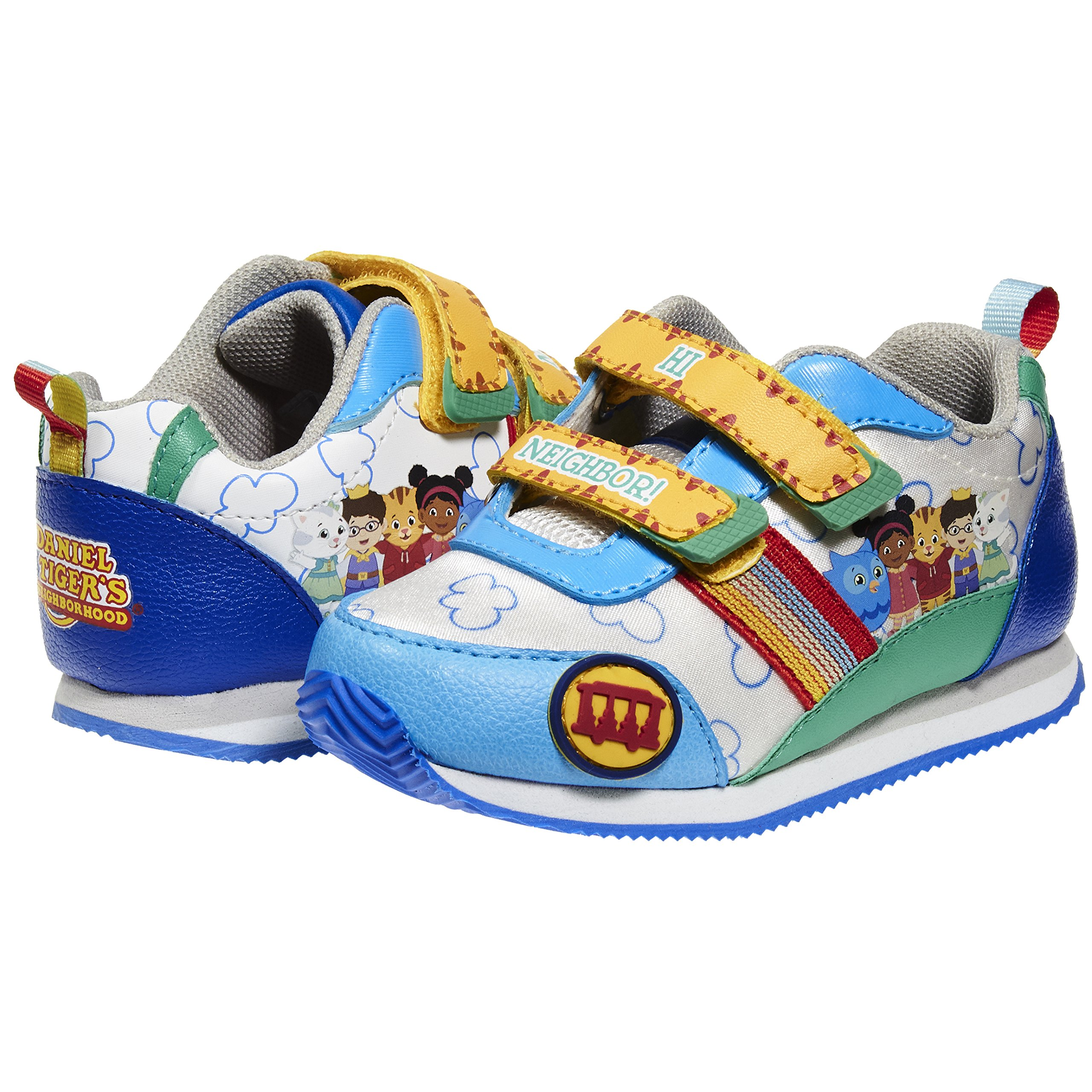 Daniel Tiger Blue/White EVA Sole Sneaker Shoes Boys, Available in (9B, Blue/White)