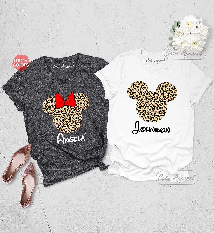 Animal Kingdom Christmas Shirt.Amazon Com Animal Kingdom Shirt Leopard Print Minnie