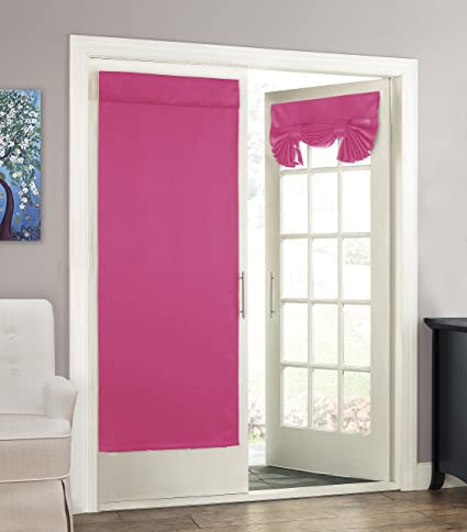 Delicieux Eclipse 14898026068PNK Tricia 26 Inch By 68 Inch Thermal Single Door Panel,  Pink