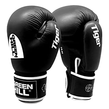 d5017a3a8 Greenhill TIGER Boxing Gloves (Black