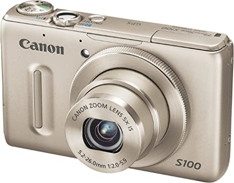 Canon PowerShot S100 Cámara compacta digital (plata): Amazon.es ...