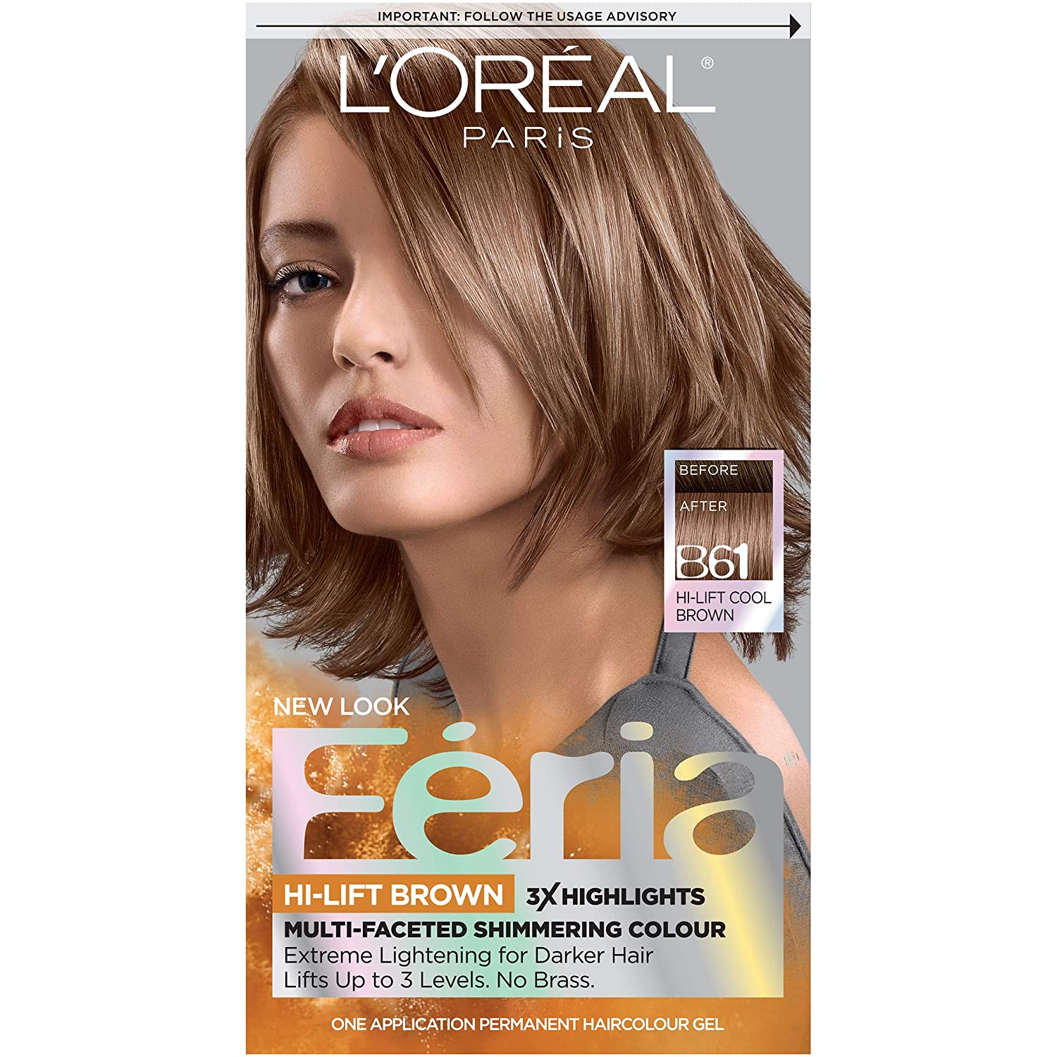Amazon Loreal Paris Feria Multi Faceted Shimmering Color 3x
