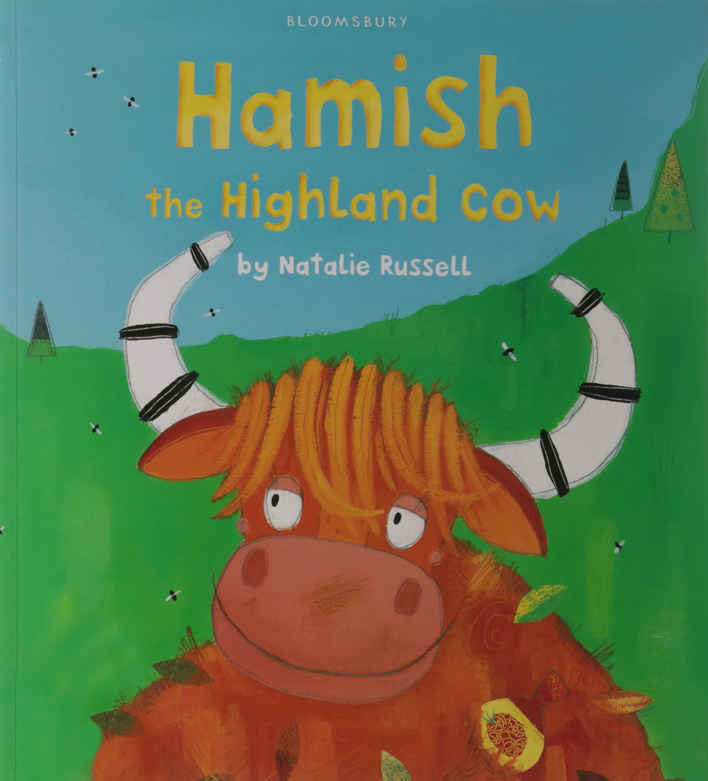 hamish the highland cow natalie russell 9780747564867 amazon