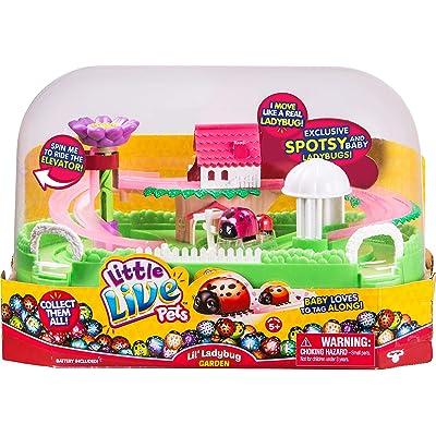 Little Live Pets Lil' Ladybug Garden - Spotsy & Baby: Little Live Pets: Toys & Games