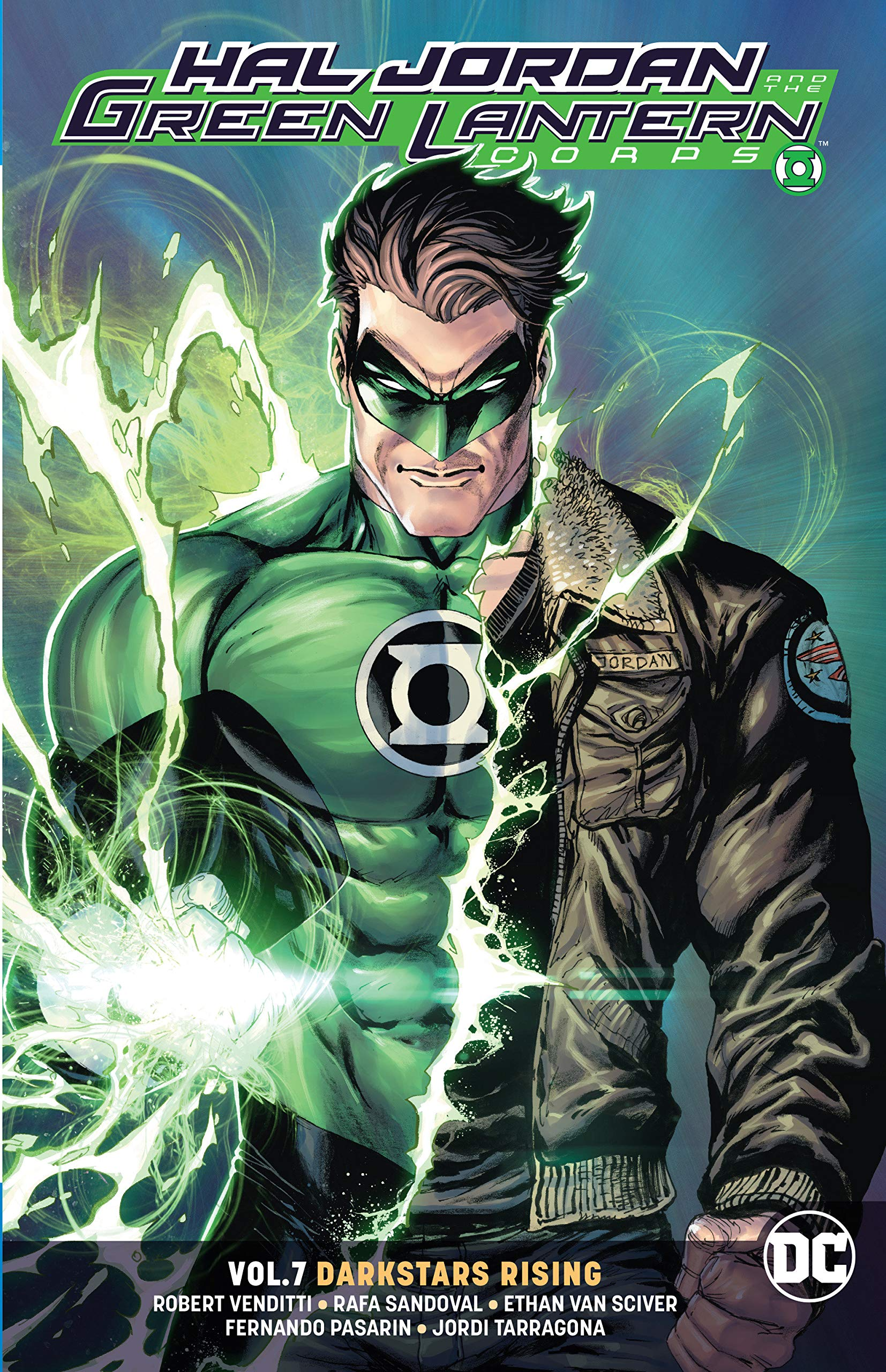 Amazon com: Hal Jordan and the Green Lantern Corps Vol  7: Darkstars