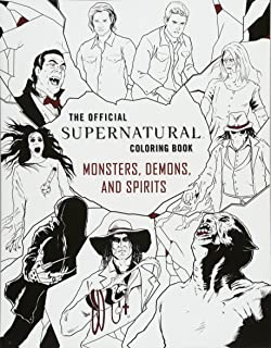 Supernatural The Official Coloring Book Insight Editions