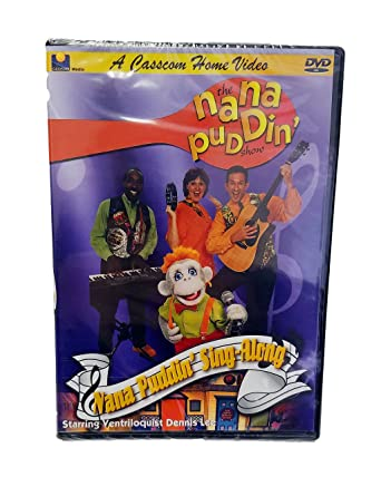Amazon com: NANA PUDDIN' SING ALONG DVD- Bible Songs-Kids