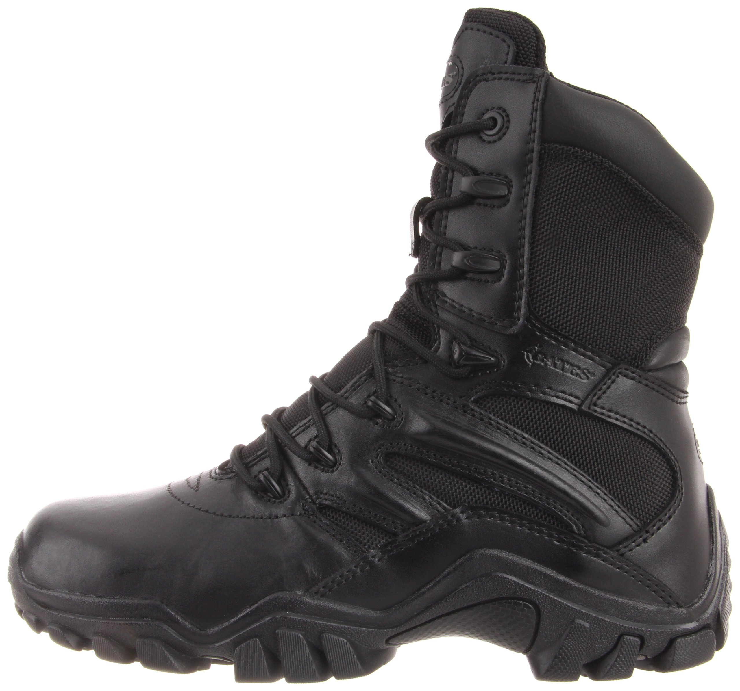 Bates Women's Delta 8 Inch Boot, Black, 8 M US by Bates (Image #5)