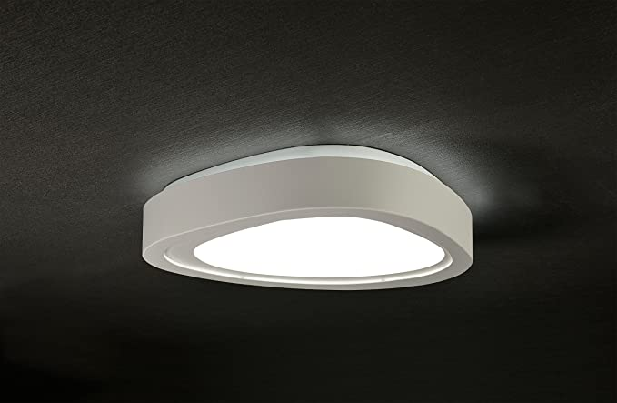 Plafoniere Led Luce Calda : Plafoniera led space 44w bianco luce calda 3000°k: amazon.it