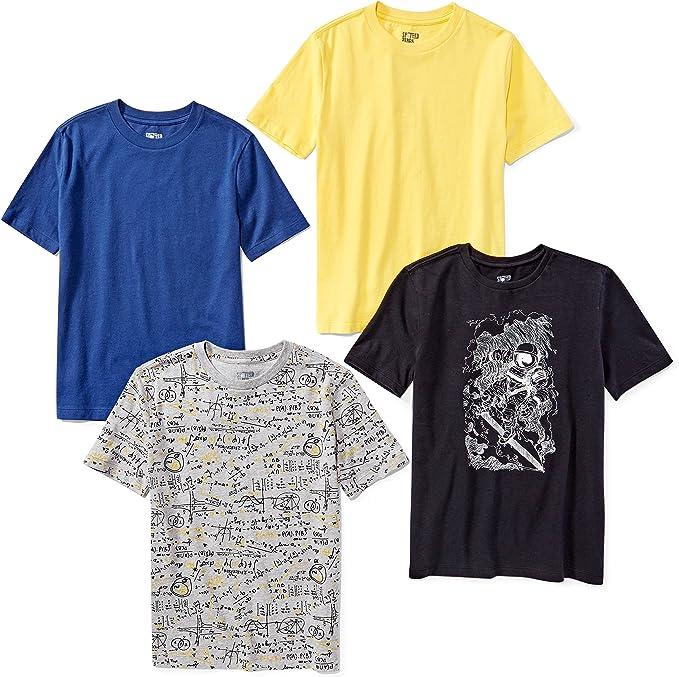 Toddler Kids Boy Summer Short Sleeve T-shirt Casual Plane Print Graphic Tee Tops