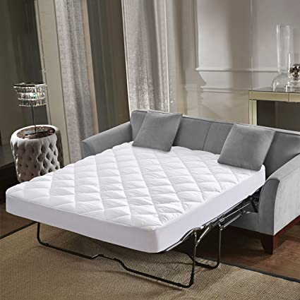 Amazoncom Everest Supply Mattress Pad 350 Gsm Sofa Bed Full Size