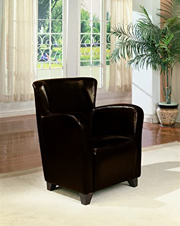 Coaster Home Furnishings Accent Chair with High Back Dark Brown