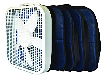 Box Fan Filter : Gizmo folks breeze air filter fan filter attachments for box fans