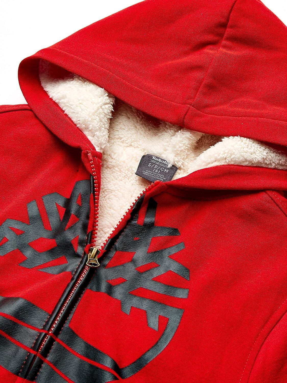 Timberland Boys Sherpa Lined Fleece Full Zip Hoodie