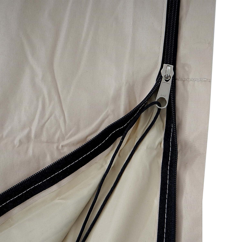 Copriombrellone Merano poliestere con rivestimento PVC 5m ~ avorio