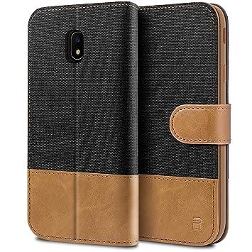 BEZ Funda Samsung J5 2017, Carcasa Compatible para Samsung Galaxy J5 2017, Libro de Cuero con Tapas y Cartera, Cover Protectora con Ranura para ...