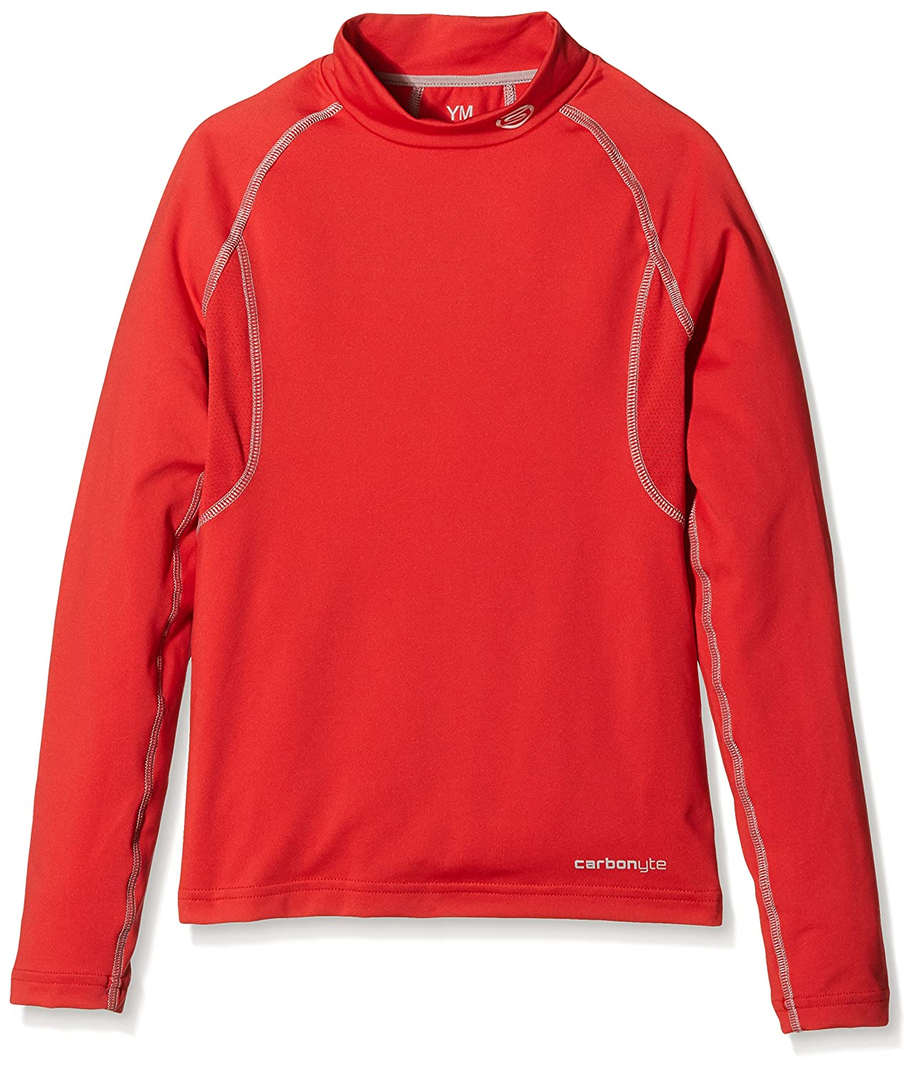 SKINS, Maglia Intima Termica a Maniche Lunghe Bambino Carbonyte, Rosso (Rot), S F03014066Y