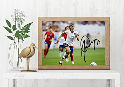 6d5a9428dfc Amazon.com  Reprints Alex Morgan Signed Photo -Soccer