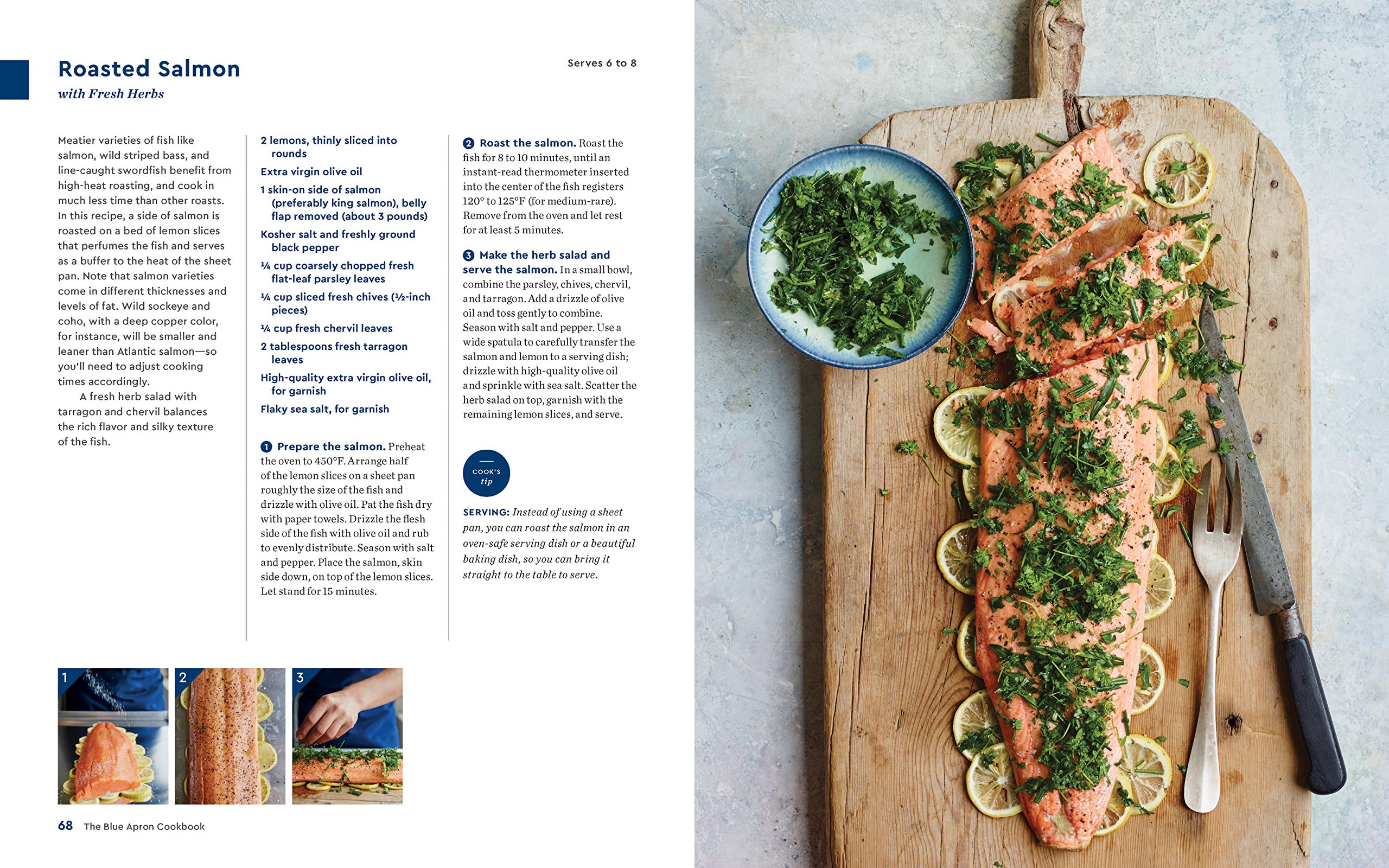 The blue apron cookbook 165 essential recipes and lessons for a the blue apron cookbook 165 essential recipes and lessons for a lifetime of home cooking blue apron culinary team 9780062562760 amazon books forumfinder Image collections