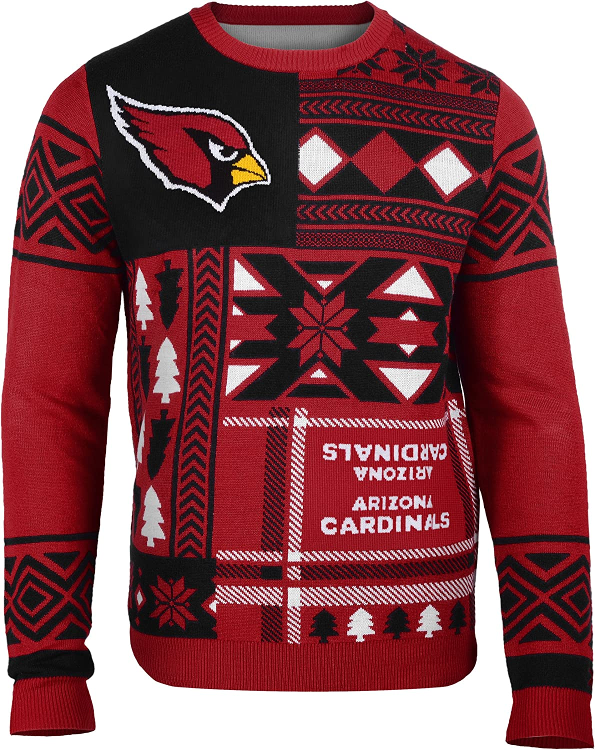 FOCO NFL Unisex-Adult 3D Ugly Sweater
