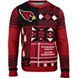 FOCO NFL unisex Patches Ugly Crew Neck Sweater