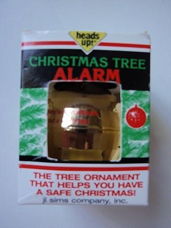 Amazoncom Heads Up Christmas Tree Fire Alarm Ball Ornament