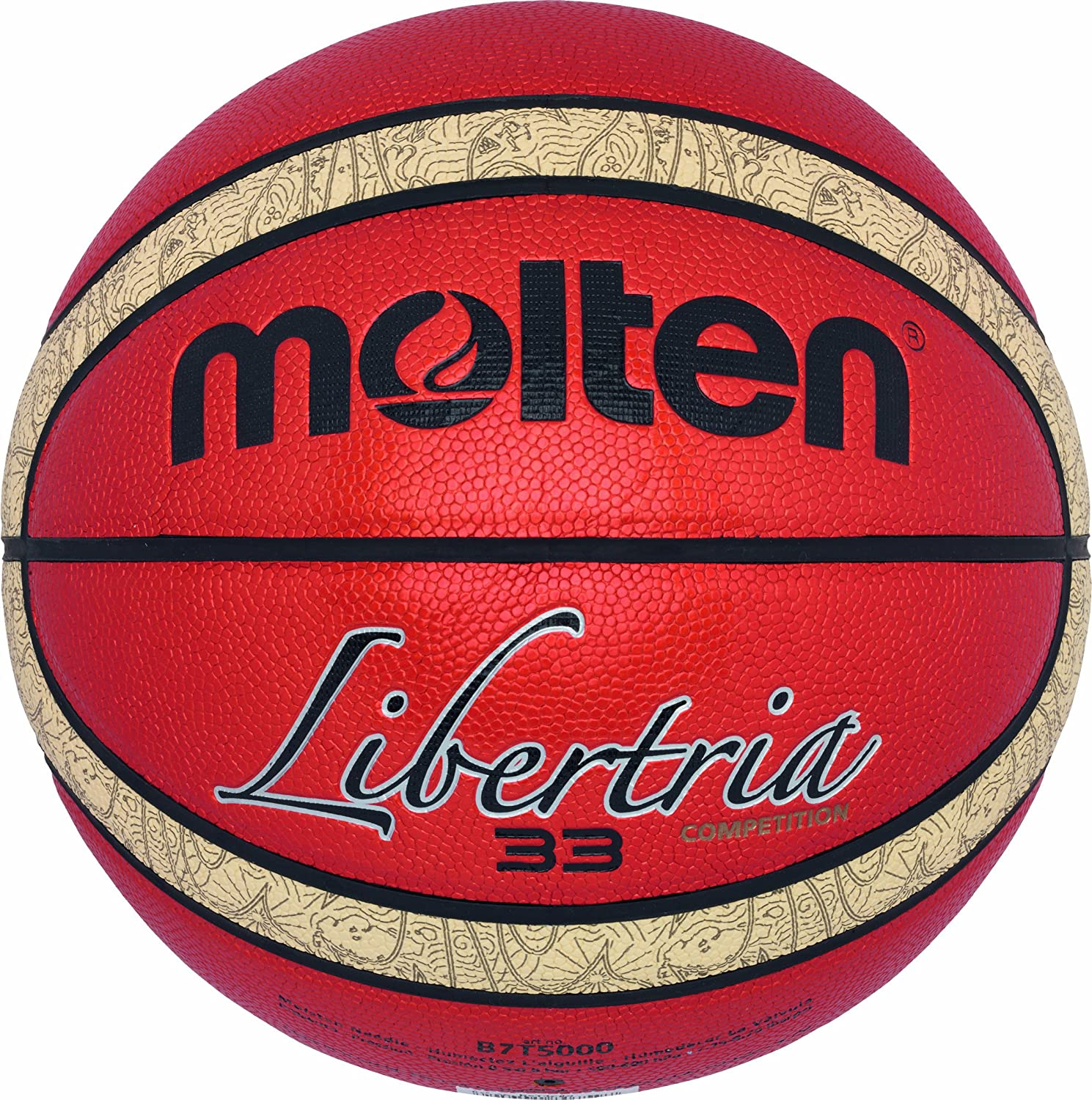 MOLTEN B7T5000 - Pelota de Baloncesto (Outdoor, Cuero), Color ...