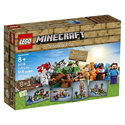 LEGO Minecraft 21116 Crafting Box: Toys & Games
